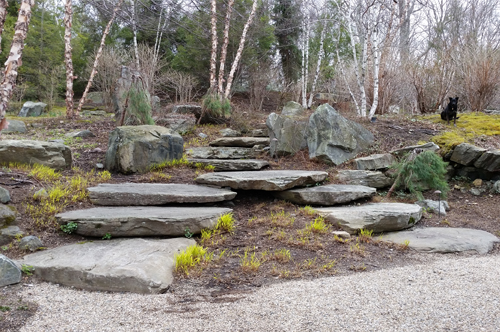 Japanese Inspired Rock Garden