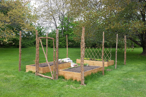 Rustic Raised Bed Vegetable Garden